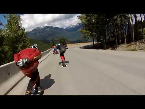 Whistler Longboard Festival 2013 Raw Run - WIPPERMANN