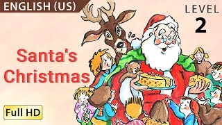 """Santa's Christmas: Learn English (US) with subtitles - Story for Children """"BookBox.com"""""""