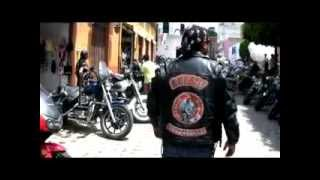 MEXICAN MOTORCYCLE GANGS TAKE OVER TOWN!