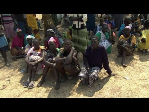 SOUTH SUDAN REFUGEES ARE 'DRINKING DIRTY WATER' - BBC NEWS