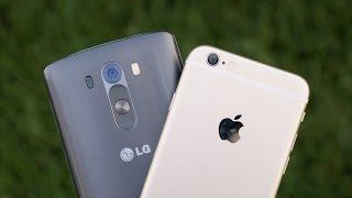 Apple IPhone 6 Vs LG G3 Camera Comparison