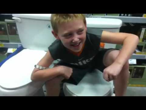 Toddler poops on potty! - YouTube