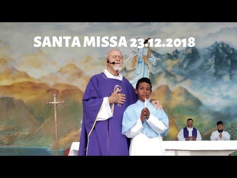 Santa Missa | 23.12.2018 | Padre José Sometti | ANSPAZ