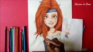 How To Draw Tinker Bell And The Pirate Fairy Zarina From