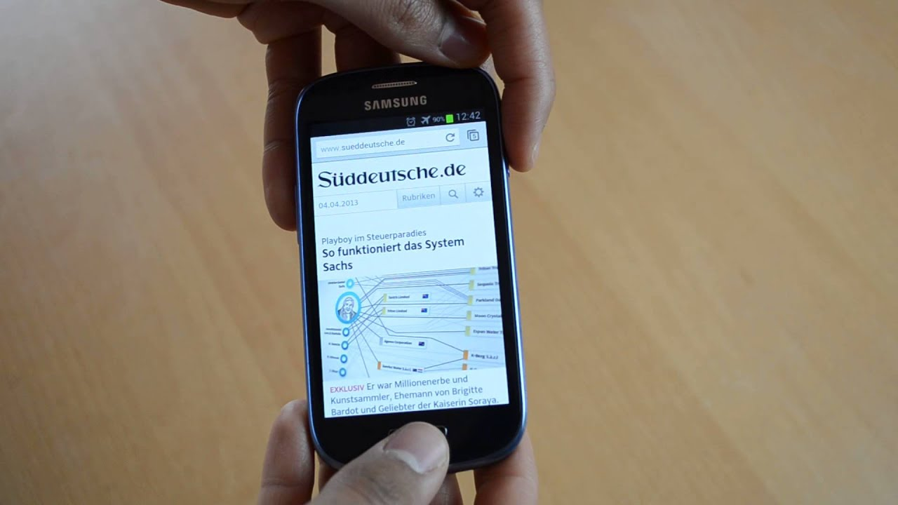 How To Take A Screenshot On Your Samsung Galaxy S3 Samsung Galaxy S3