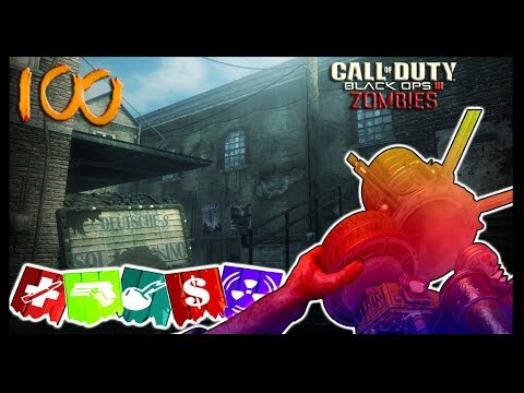 KINO DER TOTEN ROUND 100 AS FAST AS I CAN! (Black Ops 3 Zombies)
