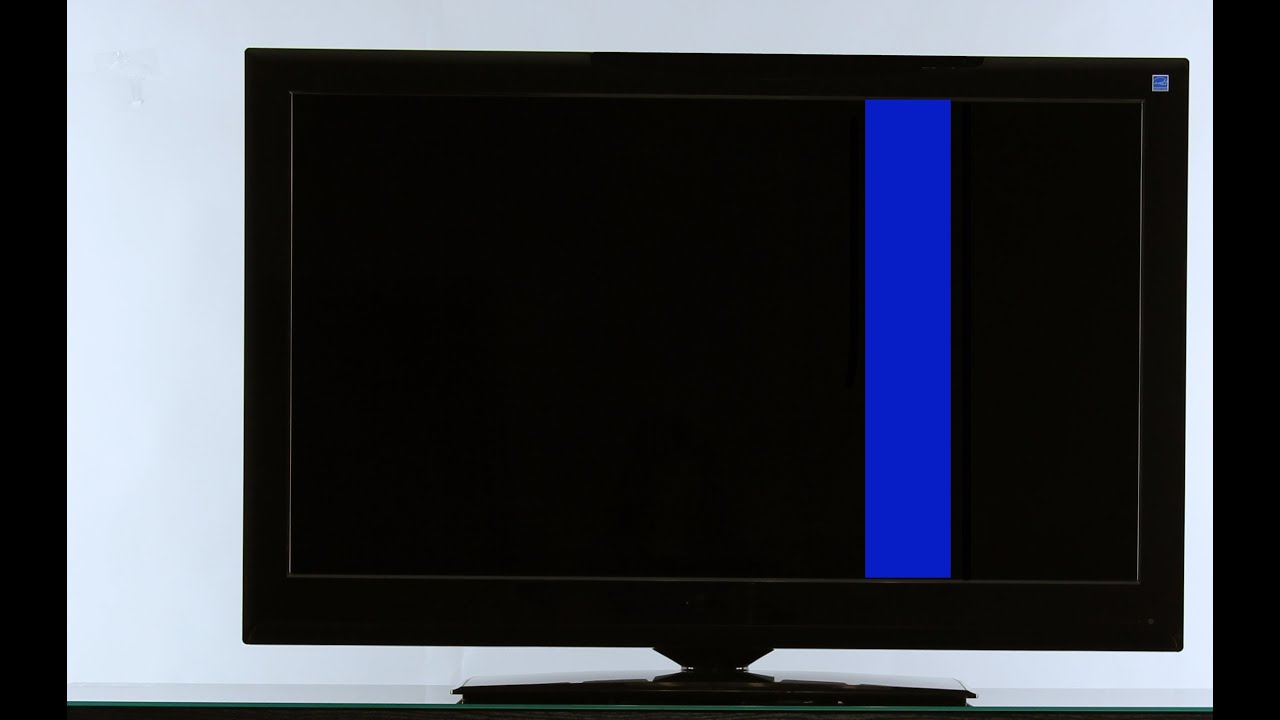 Tv Repair Tutorial Vertical Lines On Tv How To Replace
