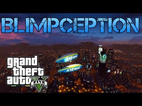 Grand Theft Auto V Challenges | BLIMPCEPTION - BLIMP ON BLIMP & CAR CUSTOMISATION | PS3 HD Gameplay