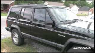 1996 Jeep Cherokee XJ Sport (4X4) (Black)