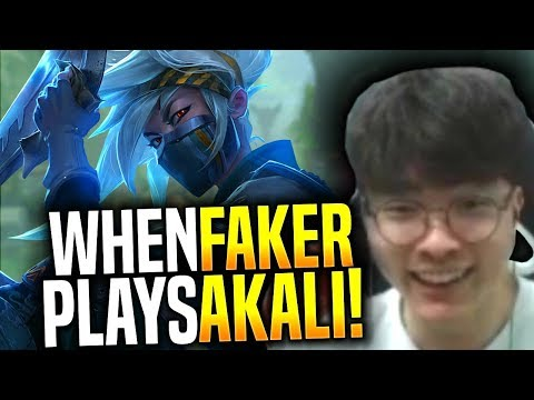 Faker is Ready to Destroy with New Akali! - SKT T1 Faker Picks Akali Mid! | SKT T1 Replays
