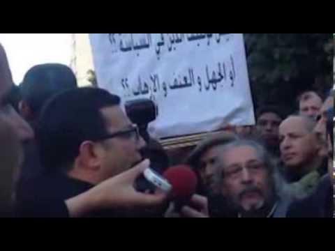 image vidéo الرحوي يخرج لأنصاره وسط حماية أمنية كبرى