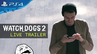 Watch Dogs 2 - Élőszereplős Trailer