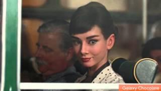 Audrey Hepburn Resurrected For Chocolate Commercial