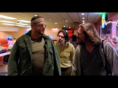 The Big Lebowski Thank You Donny Scene