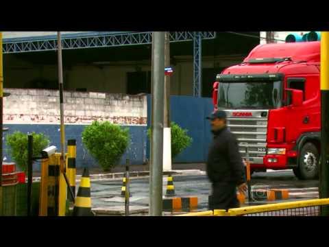 Mega assalto na fábrica da Sansung (Bom dia Brasil - TV Globo)