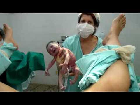 Nascimento da Elis / parto normal / baby delivery - YouTube