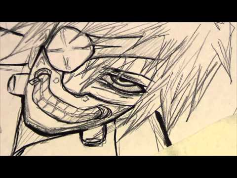 How to draw: Kaneki Ken from Tokyo Ghoul