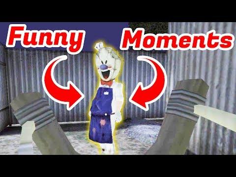 Ice Scream Funny Moments