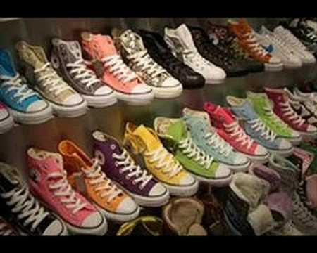 Mix of Converse 2007 all star  - chuck taylor, Mix of Converse 2007 (the best video) with music by Mike87