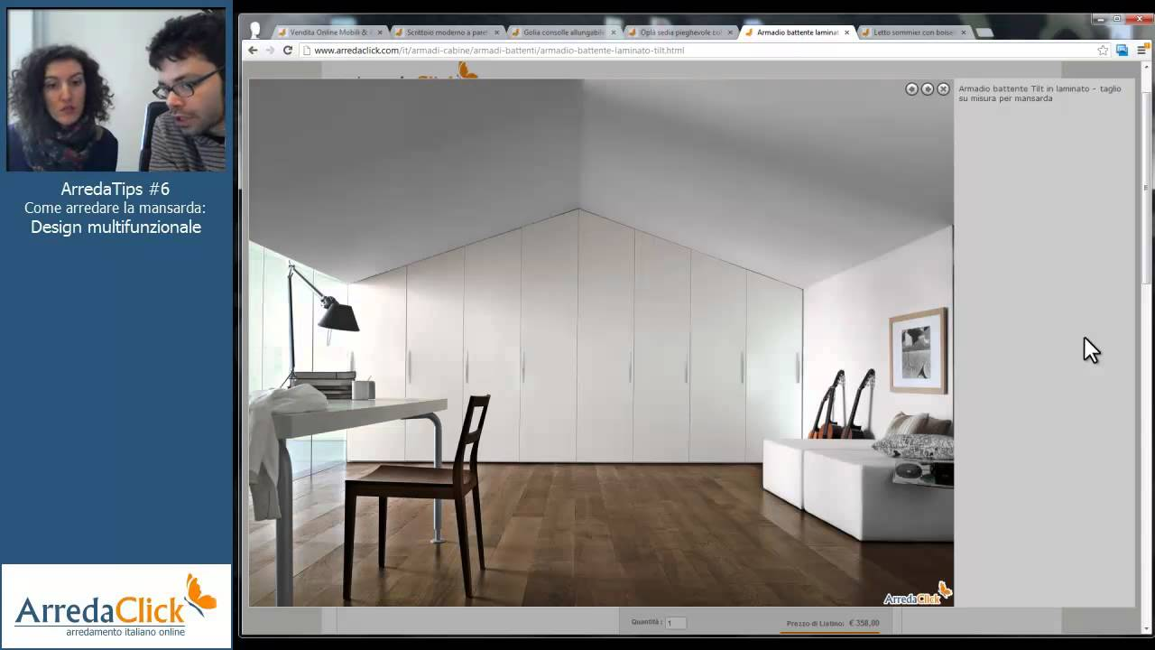 Come arredare la mansarda design multifunzionale arredatips 6 youtube - Mobili per mansarde ikea ...