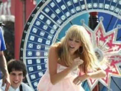 Hoedown Throwdown - Hannah Montana The Movie - (with lyrics)