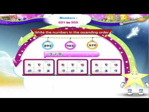 Learn Grade 2 - Maths - Numbers 901 to 1000