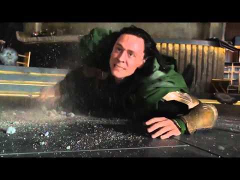 Hulk beats Loki