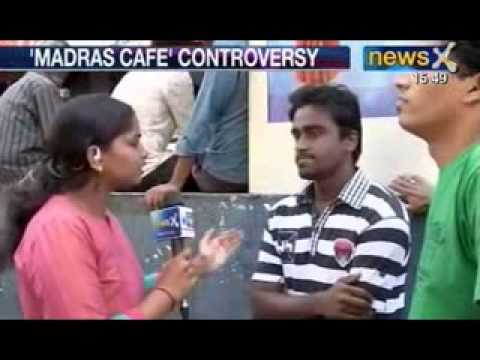 News X: 'Madras Cafe' controversy