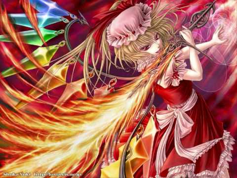 EoSD Extra Stage Boss - Flandre Scarlet's Theme - U.N. Owen was her?, The music playing during the battle with the boss of the extra stage, Flandre Scarlet, in 'Touhou: Embodiment of Scarlet Devil'.
