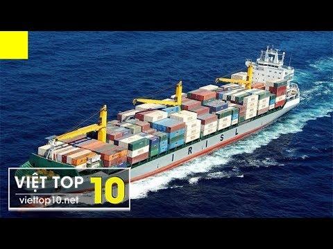 Top 10 Siêu Tàu Thủy Lớn Nhất Từ Trước Tới Giờ