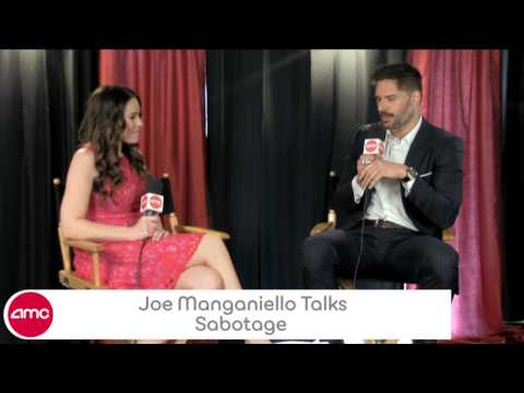 Joe Manganiello Talks Sabotage With AMC In Studio