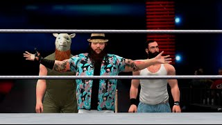 WWE 2K15 (Xbox 360) 6 Man Tag Match (The Usos & John Cena