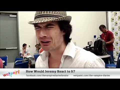 Vampire Diaries: Ian Somerhalder's Best Comic-Con 2011 Moments