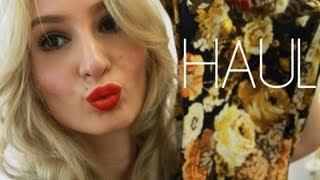 RomanceofColours – Collective Herbst Haul – Primark, Zara, Yankee Candle, Lush