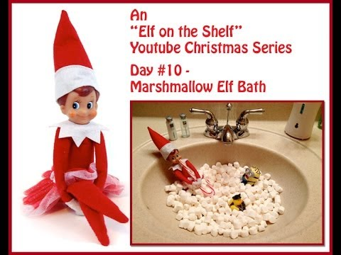 Elf on the shelf book signing at local school box stores for Elf on the shelf bathroom ideas