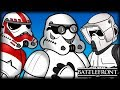 Stormtrooper Personalities Star Wars Battlefront Animated