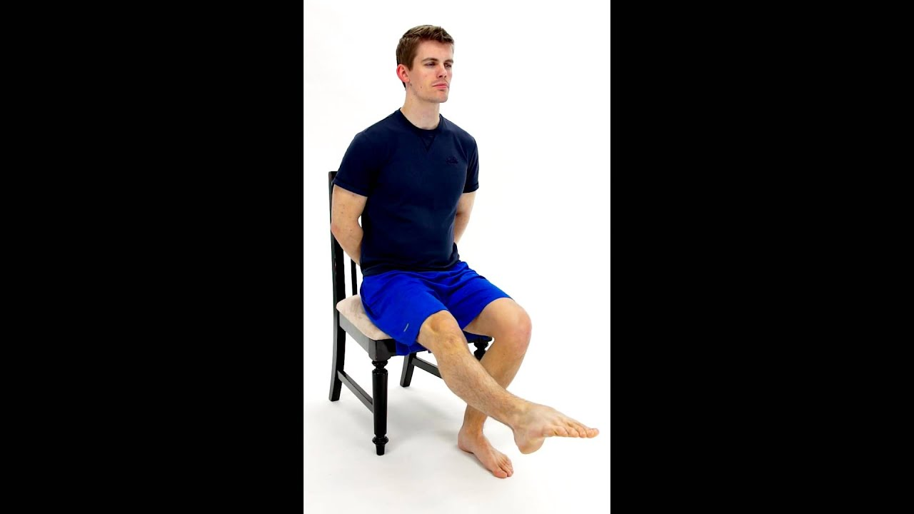 SCIATIC NERVE GLIDE - SEATED - 1 -hep2go - YouTube