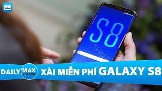 MaxDaily 22/11: Người dùng iPhone được xài miễn phí Galaxy S8
