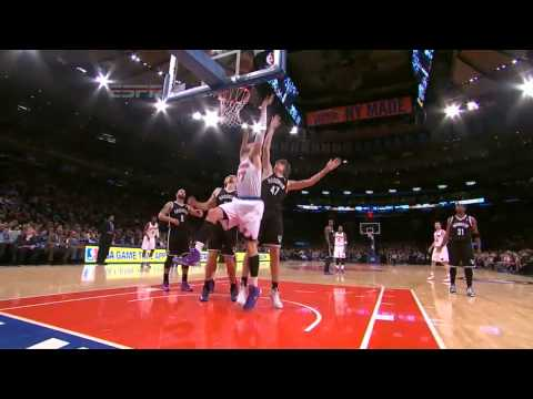 Andrea Bargnani vs Brooklyn Nets / Jan. 20th, 2014