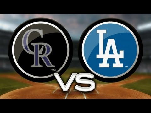 9/27/13: Dodgers use long ball to back Kershaw's gem