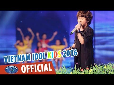 VIETNAM IDOL KIDS - THẦN TƯỢNG ÂM NHẠC NHÍ 2016 - VÒNG STUDIO - TRẢ LẠI CHO EM - GIA KHIÊM