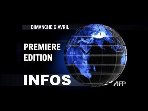 AFP - Le JT, 1ère édition du dimanche 6 avril.