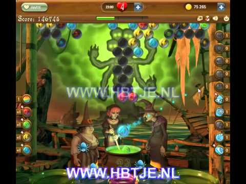 Bubble Witch Saga level 166