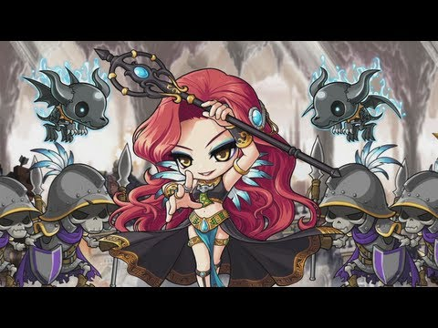 MapleStory - Renegades: Join the Fight for Azwan, http://maplestory.nexon.net/renegades Stop Hilla and her undead army at all costs! Destroy enemy barricades, guard the crystal, and liberate the underground ...