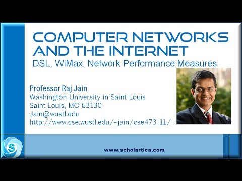 DSL, WiMax, Performance Measures
