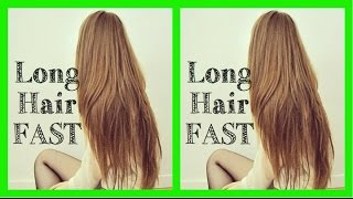 Video How To Get LONG Hair FAST (DIY Home Remedy)