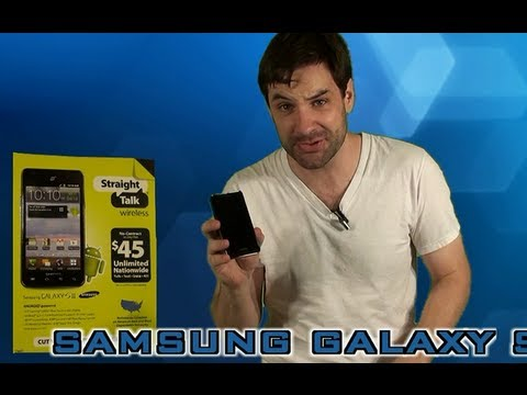 Straight Talk Samsung Galaxy S2 Review - YouTube