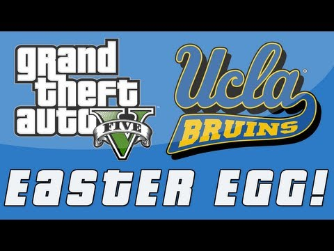 Grand Theft Auto 5 | UCLA University Easter Egg! (GTA V)