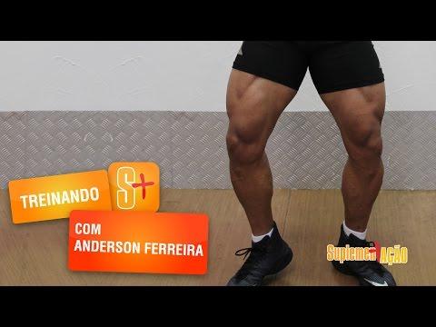 Anderson Ferreira - Treino de pernas