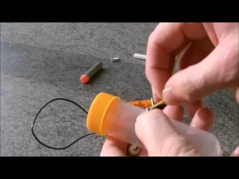 Cách chế tạo tên lửa mini cực đơn giản